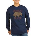 Wombat Fever III Long Sleeve Dark T-Shirt