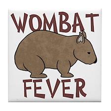 Wombat Fever III Tile Coaster