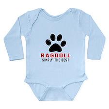 Ragdoll Simply The Bes Long Sleeve Infant Bodysuit