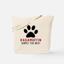Ragamuffin Simply The Best Cat Designs Tote Bag