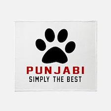 Punjabi Simply The Best Cat Designs Throw Blanket