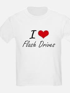 I love Flash Drives T-Shirt