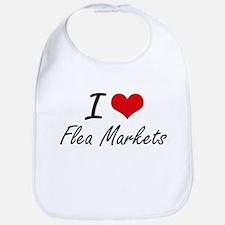 I love Flea Markets Bib