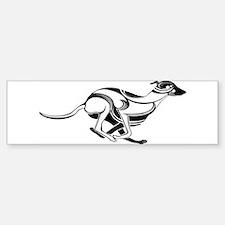 Greyhoundofficial Bumper Bumper Bumper Sticker
