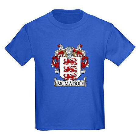 McMahon Coat of Arms Kids Dark T-Shirt