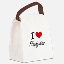 I love Floodgates Canvas Lunch Bag