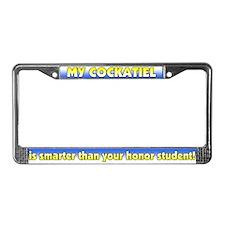 Hnr Student Cockatiel License Plate Frame