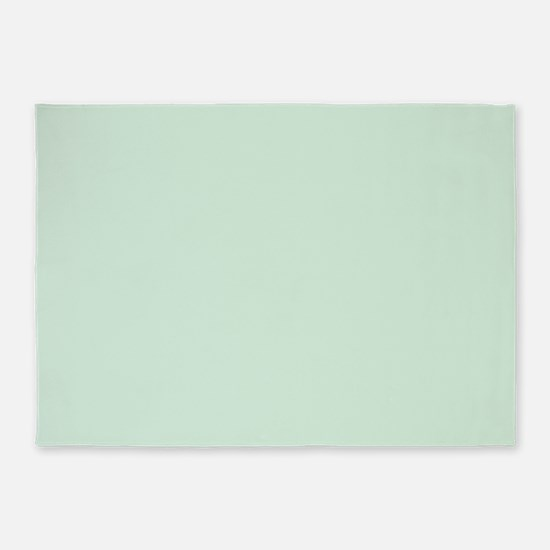 Mint Solid Color 5'x7'Area Rug