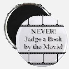 Judge a book Magnet