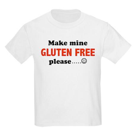 Make mine GLUTEN FREE please. Kids Light T-Shirt