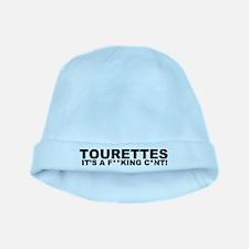 Cute Tourettes baby hat