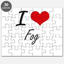I love Fog Puzzle