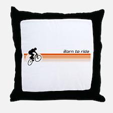 Born to ride - BMX design Throw Pillow