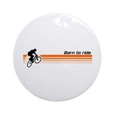 Born to ride - BMX design Ornament (Round)