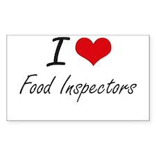 I love Food Inspectors Decal