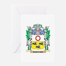 Barbaro Coat of Arms - Family Crest Greeting Cards