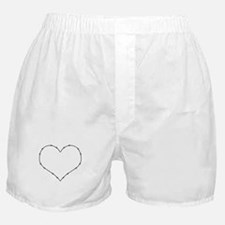 Barbed Wire Heart Boxer Shorts