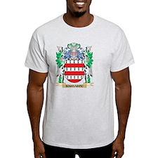 Barbarou Coat of Arms - Family Cres T-Shirt