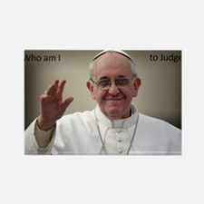 Cute Pope Rectangle Magnet (10 pack)