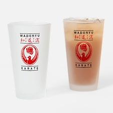 Wadoryu Karate Drinking Glass