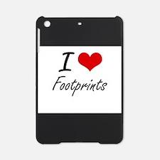 I love Footprints iPad Mini Case