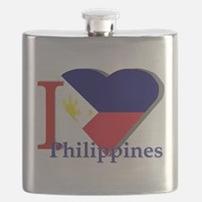 I love Philippines Flask