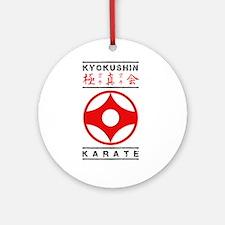 Cute Kyokushin Round Ornament