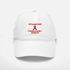 I support alzheimer's research Baseball Baseball Cap