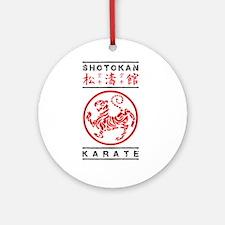 Shotokan Karate Round Ornament