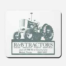 R and B Tractor Mousepad