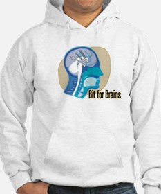 (Drill) Bit for Brains (2) Hoodie