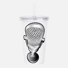 Unique Broadcasting Acrylic Double-wall Tumbler