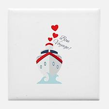 Bon Voyage Tile Coaster