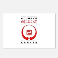 Gojuryu Symbol and text Postcards (Package of 8)