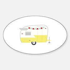 Vintage Camper Bumper Stickers