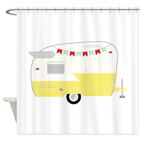 Amazing Vintage Camper Shower Curtain