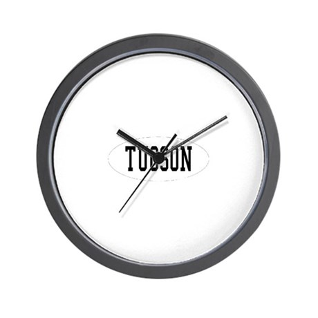 I'd Rather Be in Tucson, Ariz Wall Clock