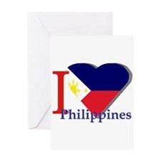 I love Philippines Greeting Cards