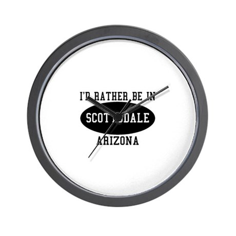I'd Rather Be in Scottsdale, Wall Clock
