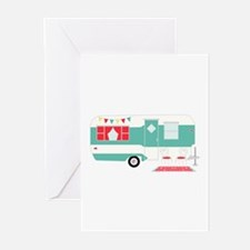 Retro Camper Greeting Cards