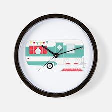 Retro Camper Wall Clock