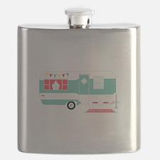 Retro Camper Flask