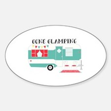 Gone Glamping Bumper Stickers