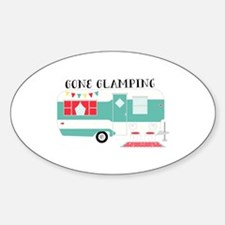 Gone Glamping Decal