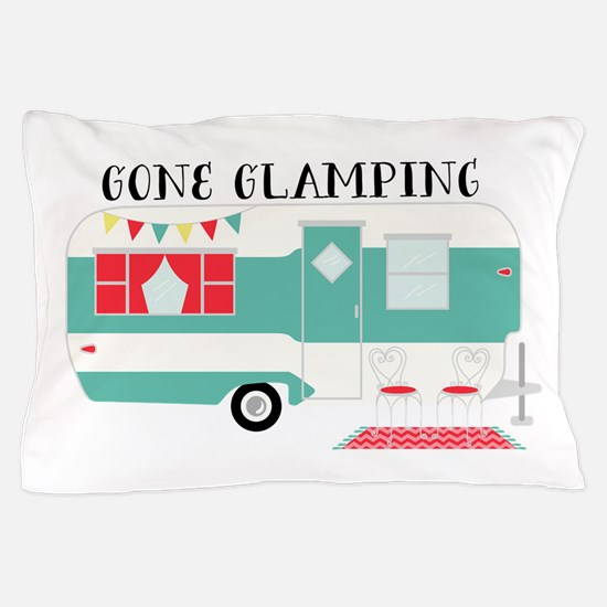 Gone Glamping Pillow Case