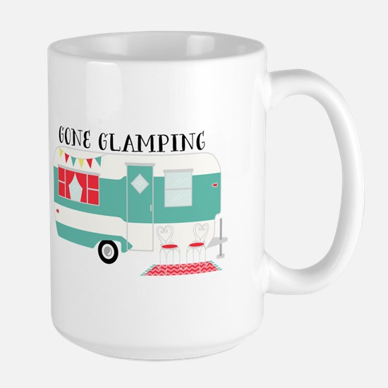 Gone Glamping Mugs