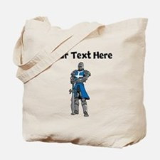 Medieval Knight Tote Bag