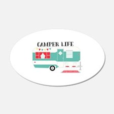 Camper Life Wall Decal