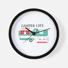 Camper Life Wall Clock