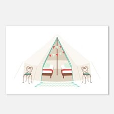 Camping Tent Postcards (Package of 8)